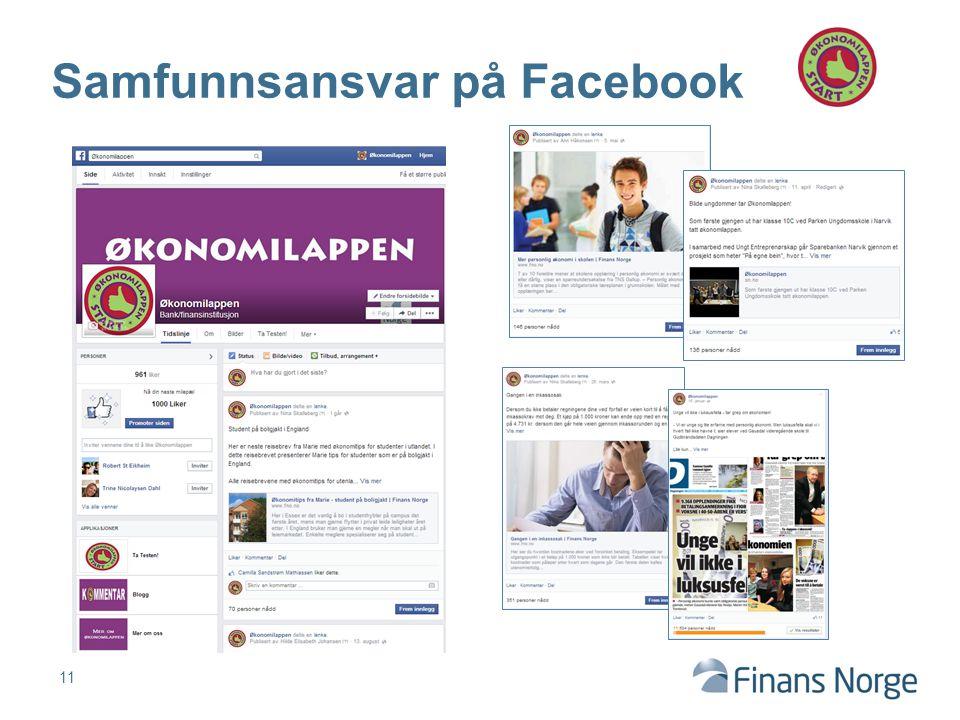 Samfunnsansvar på Facebook