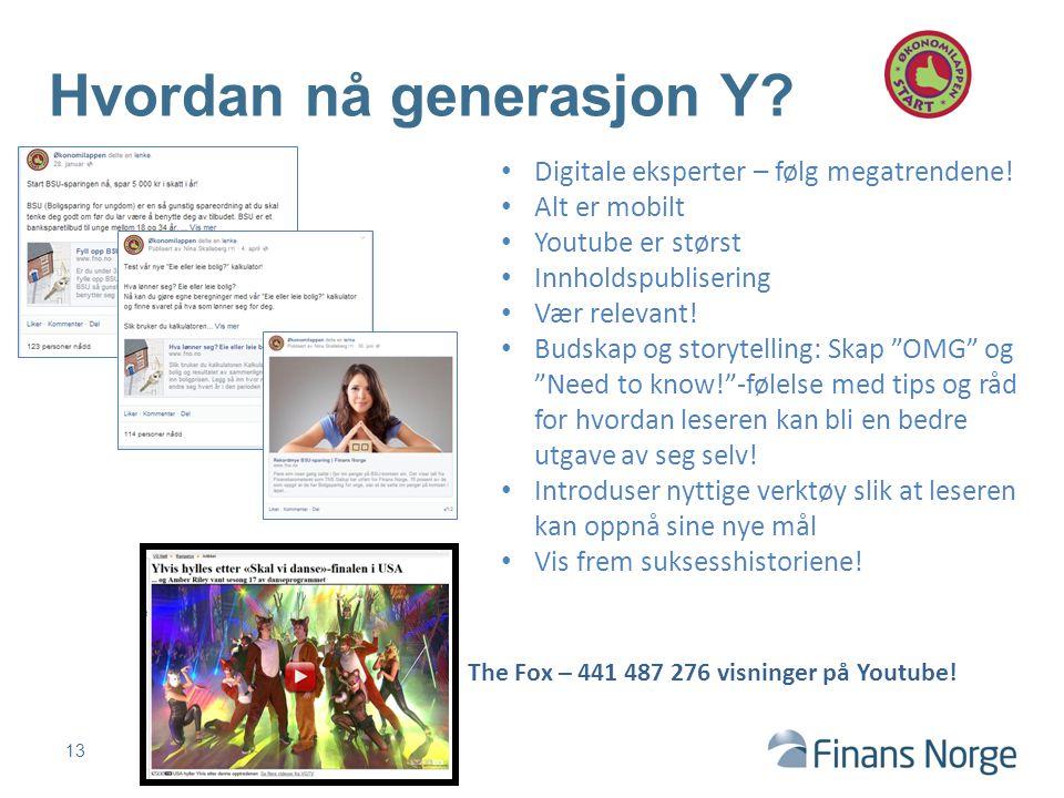 Hvordan nå generasjon Y