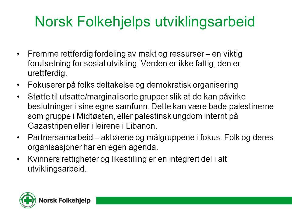 Norsk Folkehjelps utviklingsarbeid