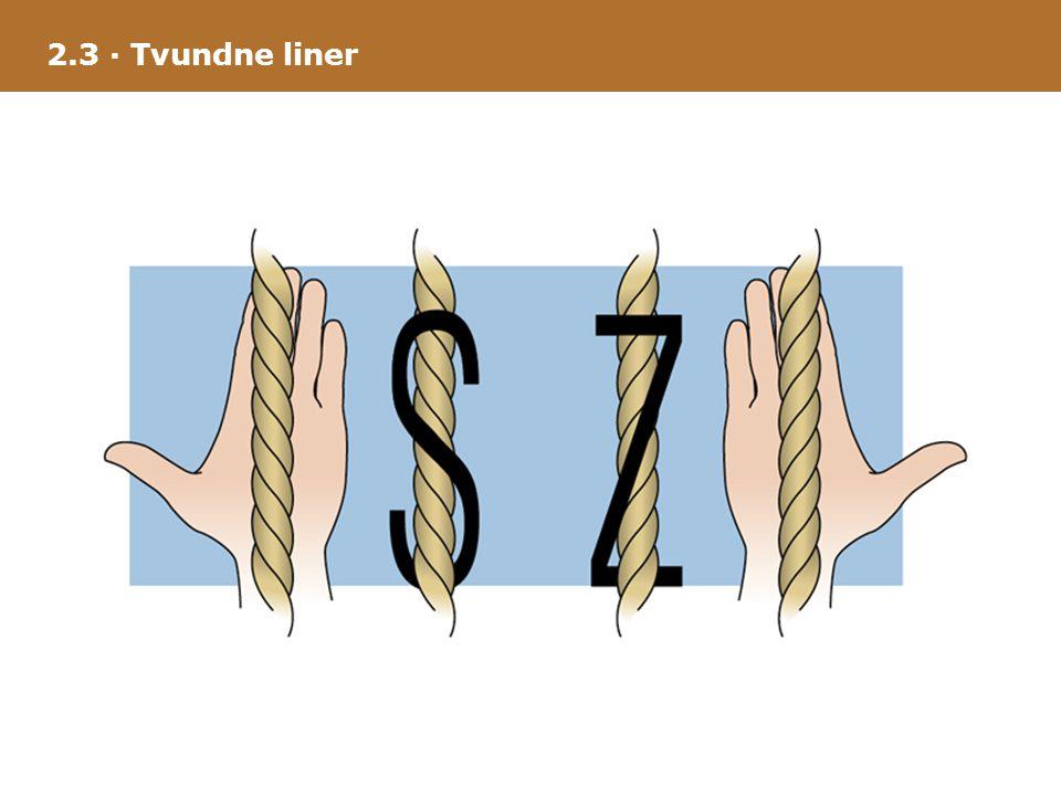 2.3 · Tvundne liner