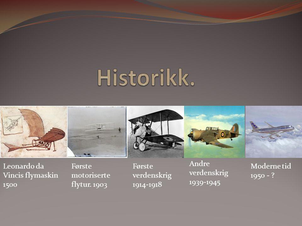 Historikk. Andre verdenskrig 1939-1945