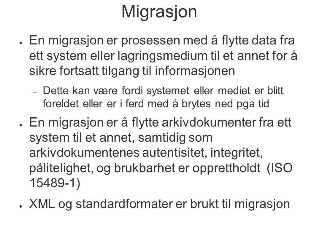 Migrasjon
