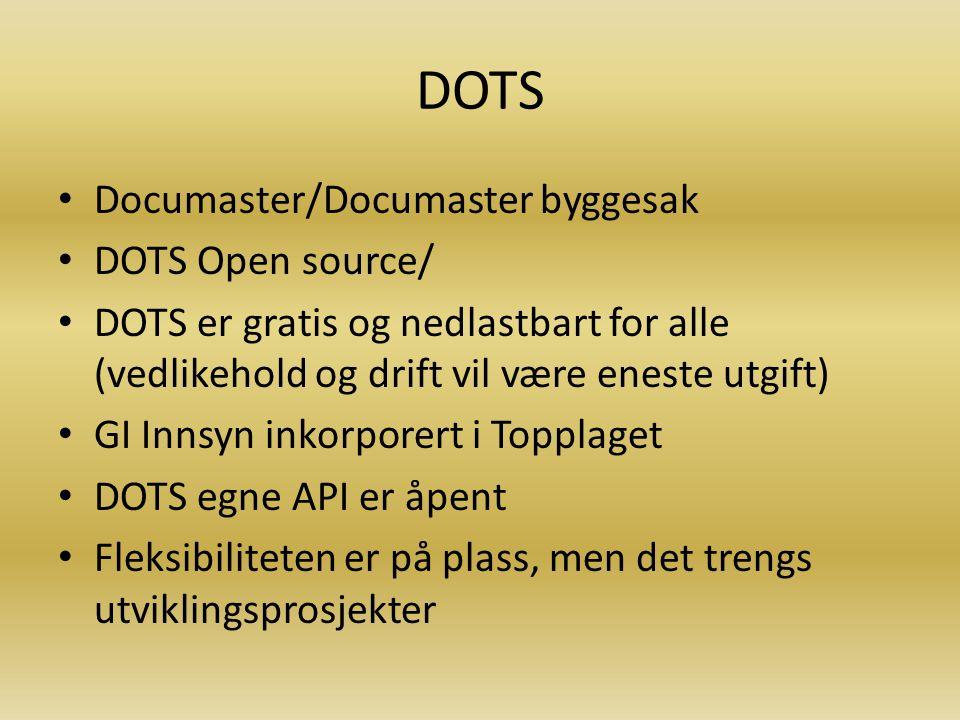 DOTS Documaster/Documaster byggesak DOTS Open source/