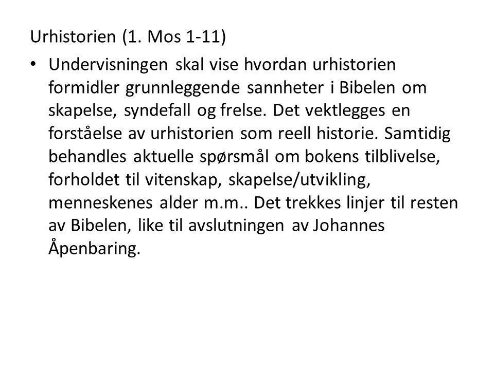 Urhistorien (1. Mos 1-11)