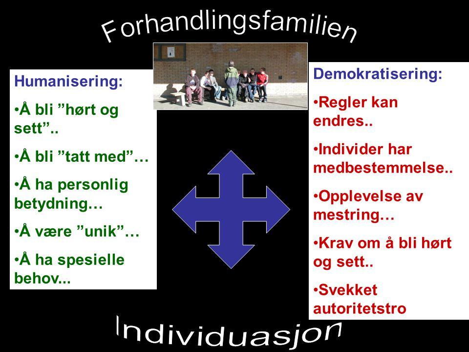 Forhandlingsfamilien