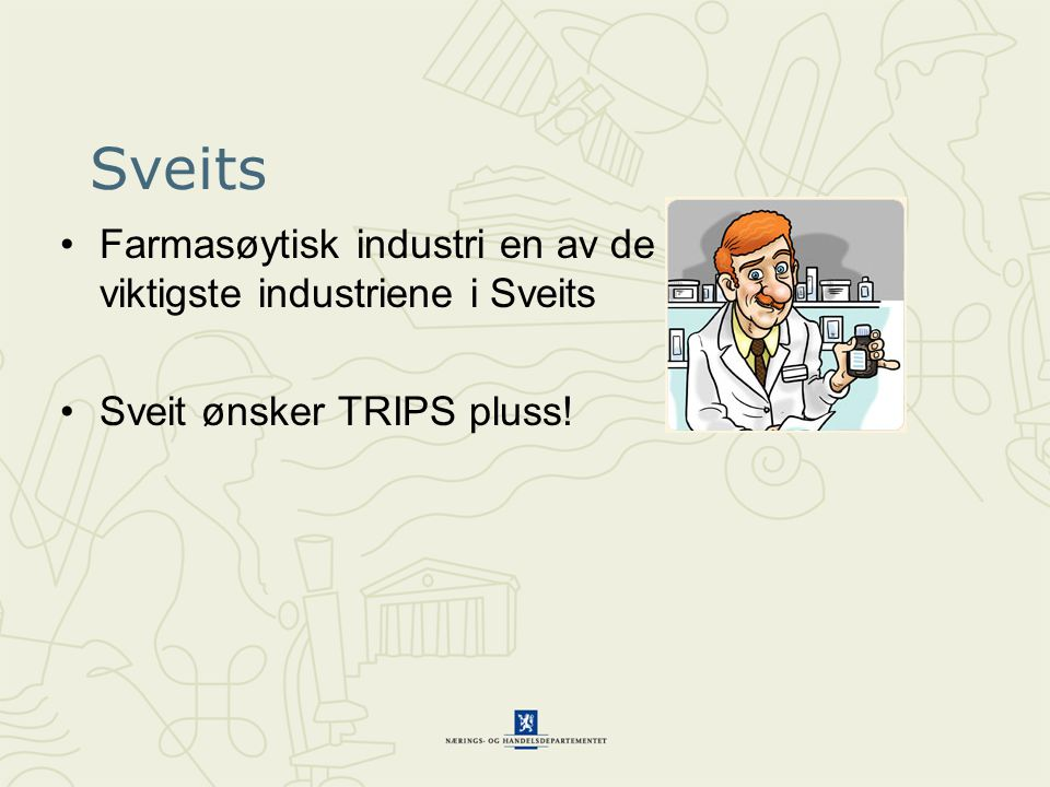 Sveits Farmasøytisk industri en av de viktigste industriene i Sveits