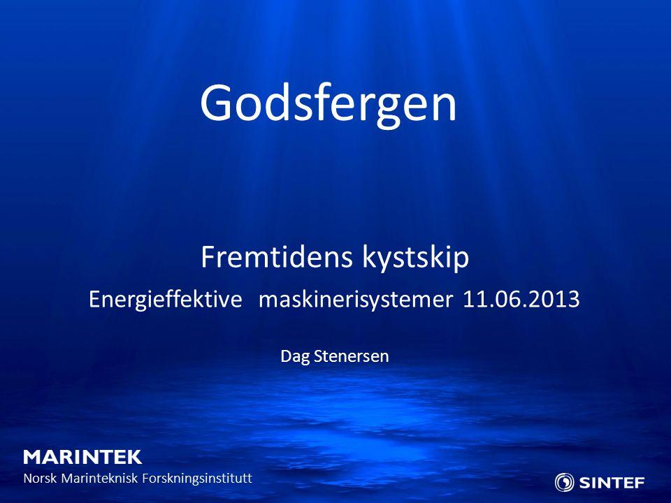 Energieffektive maskinerisystemer 11.06.2013