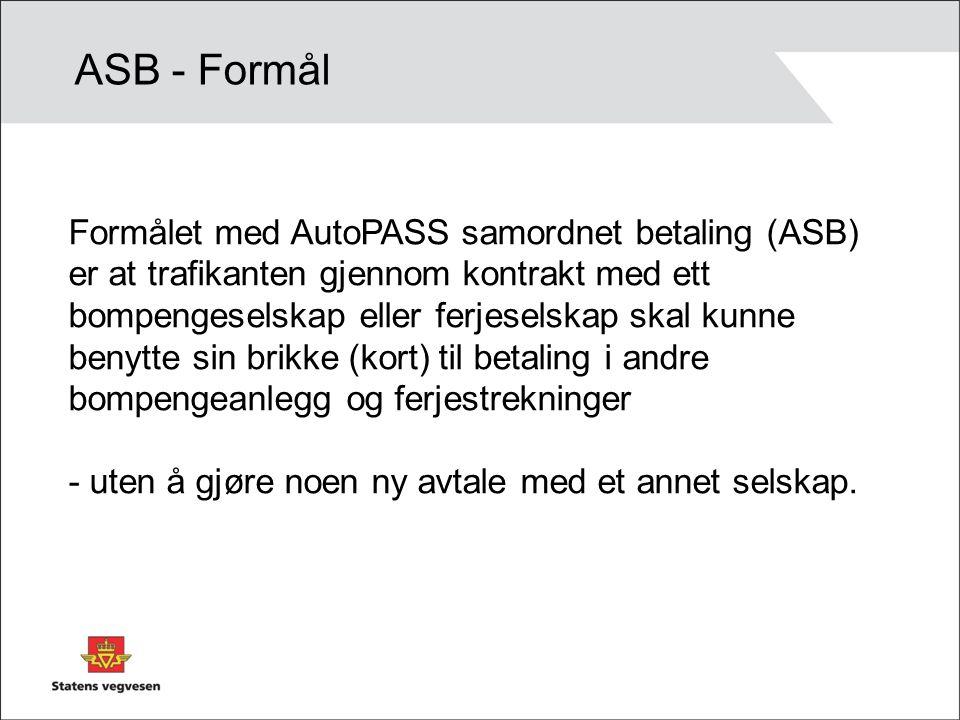 ASB - Formål