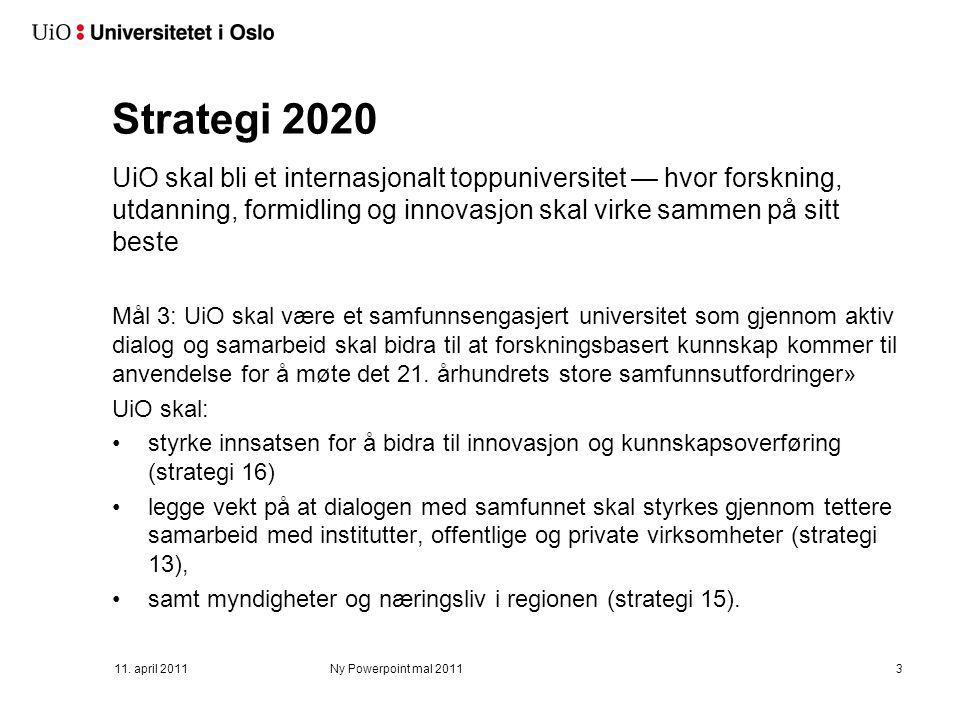 Handlingsplan for innovasjon og Innovasjonsåret 2013