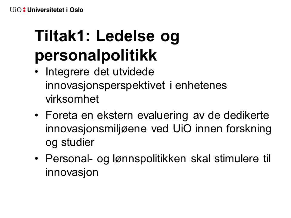 Innsatsområdene i handlingsplanen: