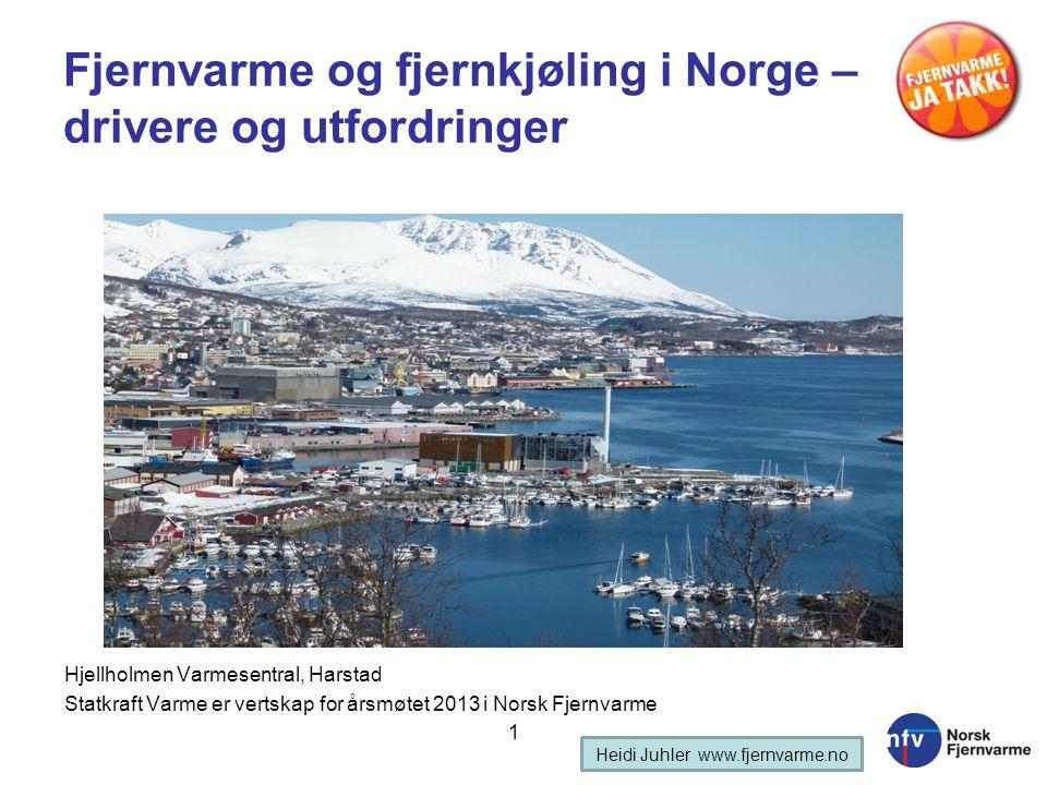 Fjernvarme og fjernkjøling i Norge – drivere og utfordringer
