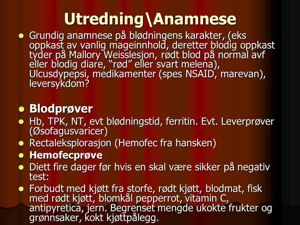 Utredning\Anamnese Blodprøver