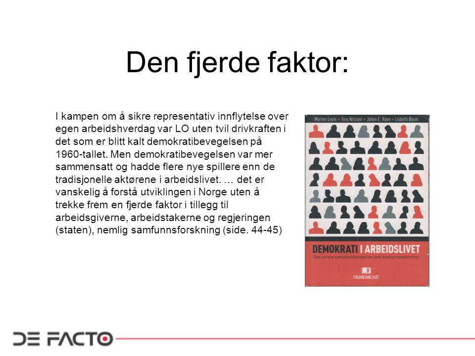 Den fjerde faktor: