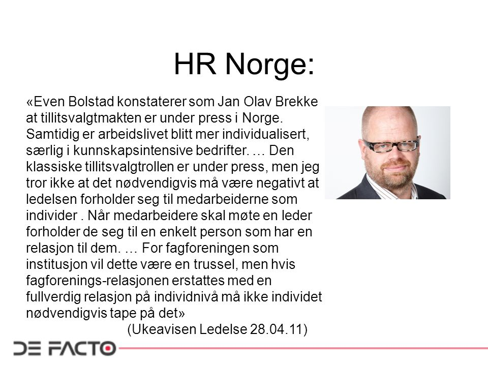 HR Norge: