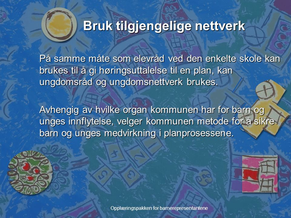 Bruk tilgjengelige nettverk
