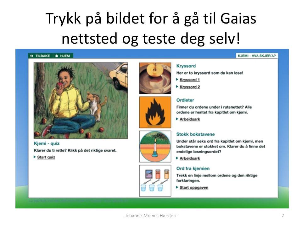 Trykk på bildet for å gå til Gaias nettsted og teste deg selv!