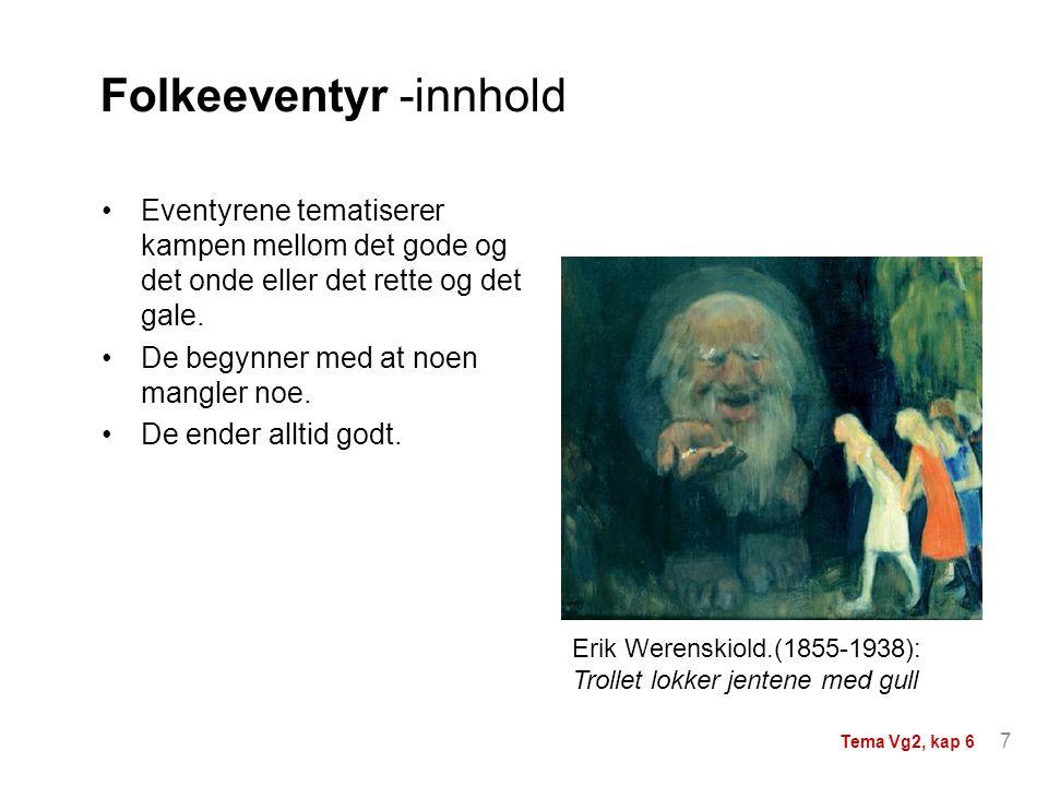 Folkeeventyr -innhold