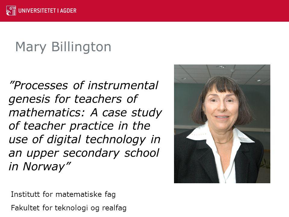 Mary Billington