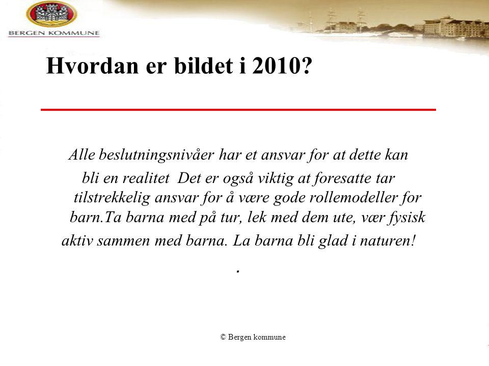 Hvordan er bildet i 2010 Alle beslutningsnivåer har et ansvar for at dette kan.