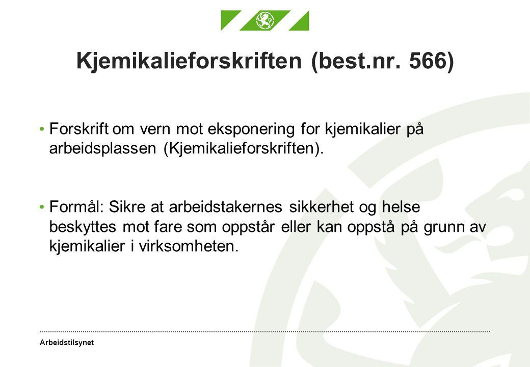 Kjemikalieforskriften (best.nr. 566)
