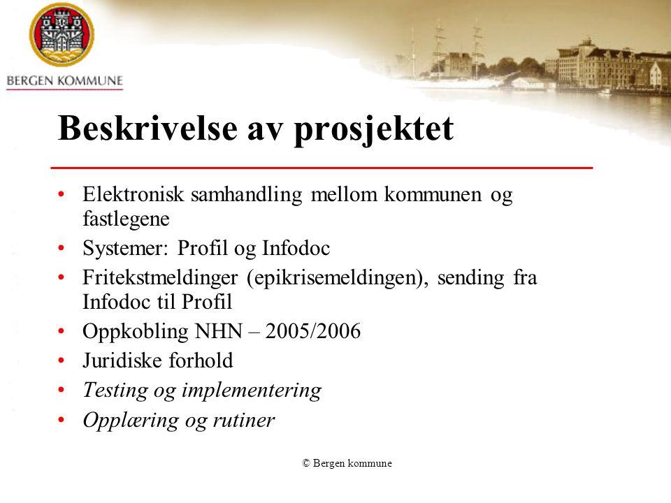 Beskrivelse av prosjektet