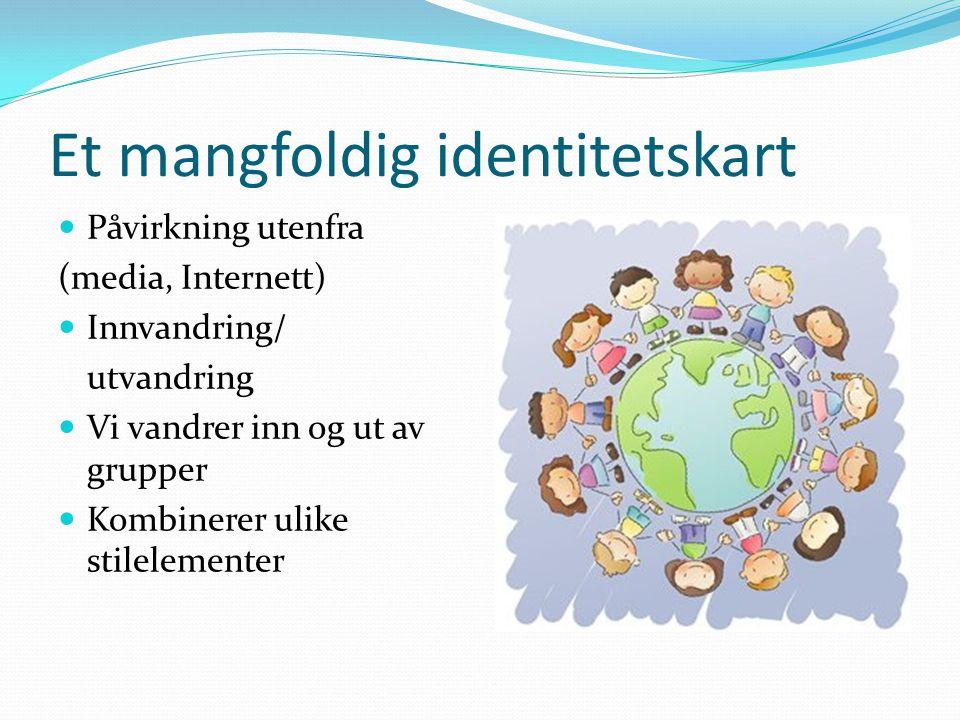 Et mangfoldig identitetskart