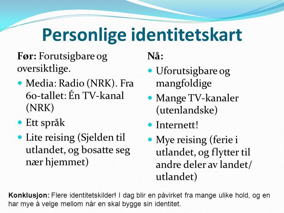 språket i norge i dag nrk