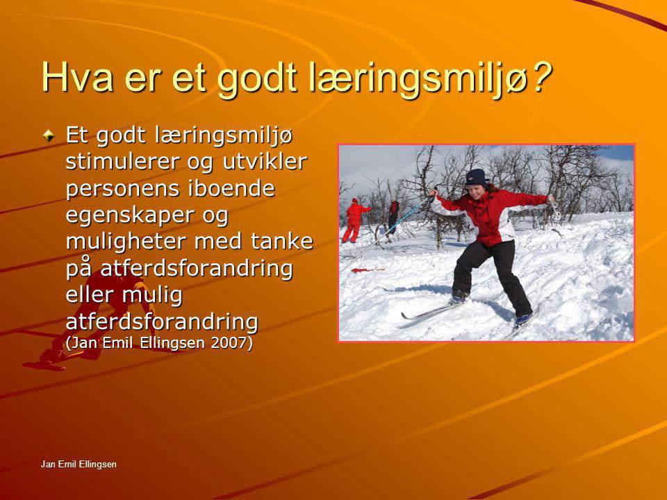 Hva er et godt læringsmiljø