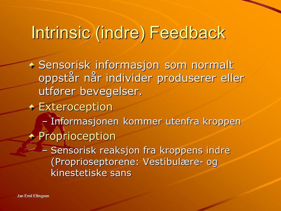 Intrinsic (indre) Feedback