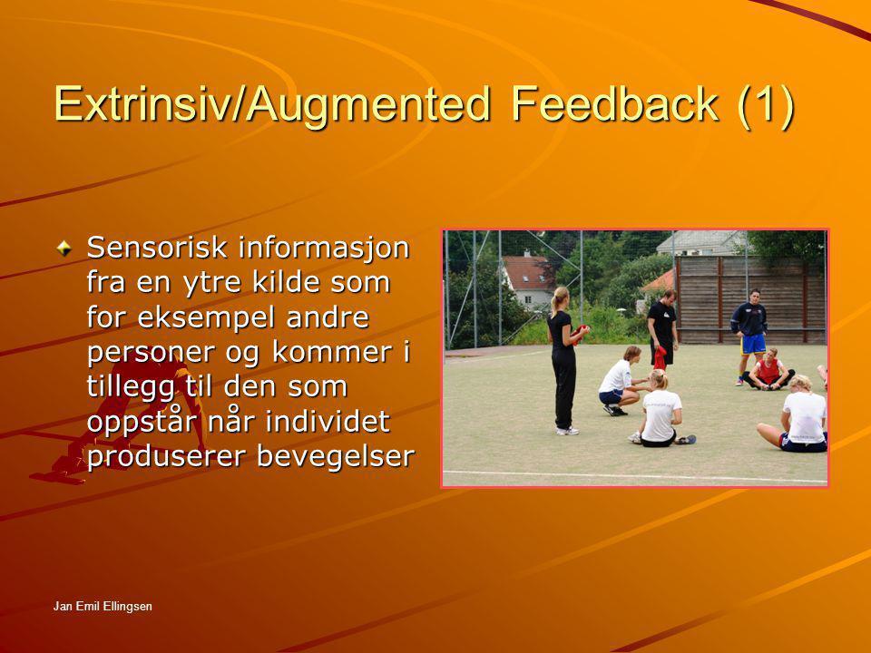 Extrinsiv/Augmented Feedback (1)