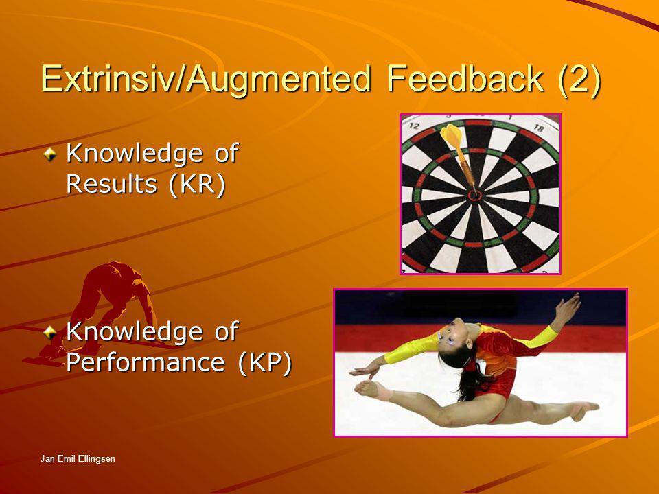Extrinsiv/Augmented Feedback (2)