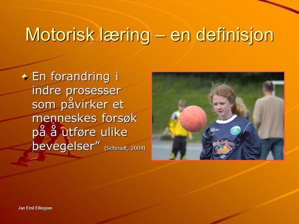 Motorisk læring – en definisjon