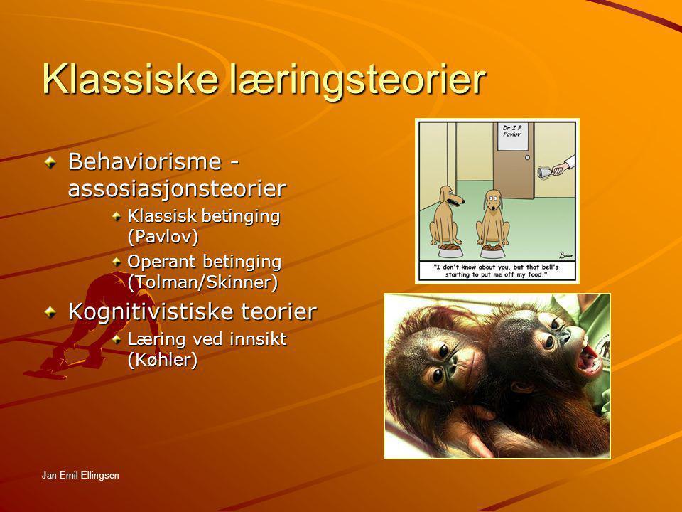 Klassiske læringsteorier