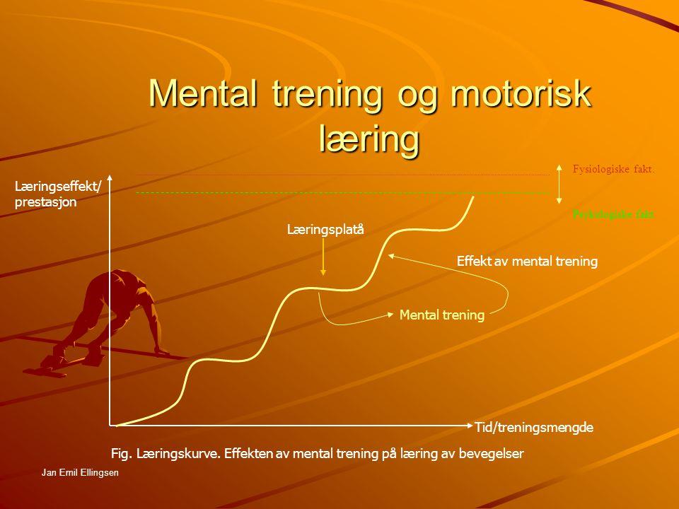 Mental trening og motorisk læring