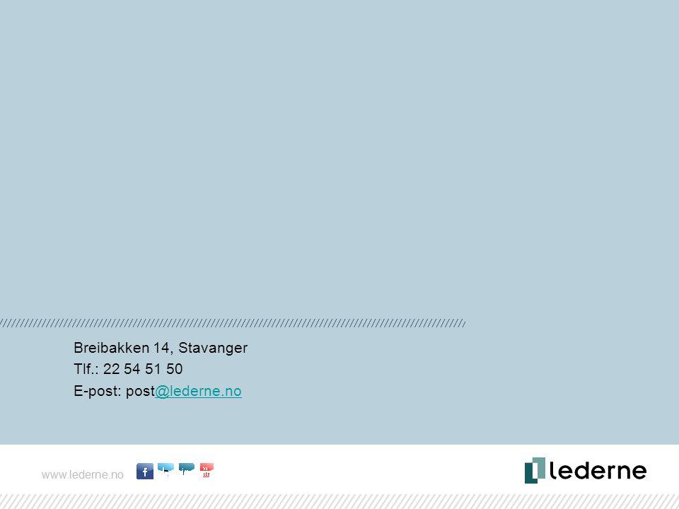 E-post: post@lederne.no