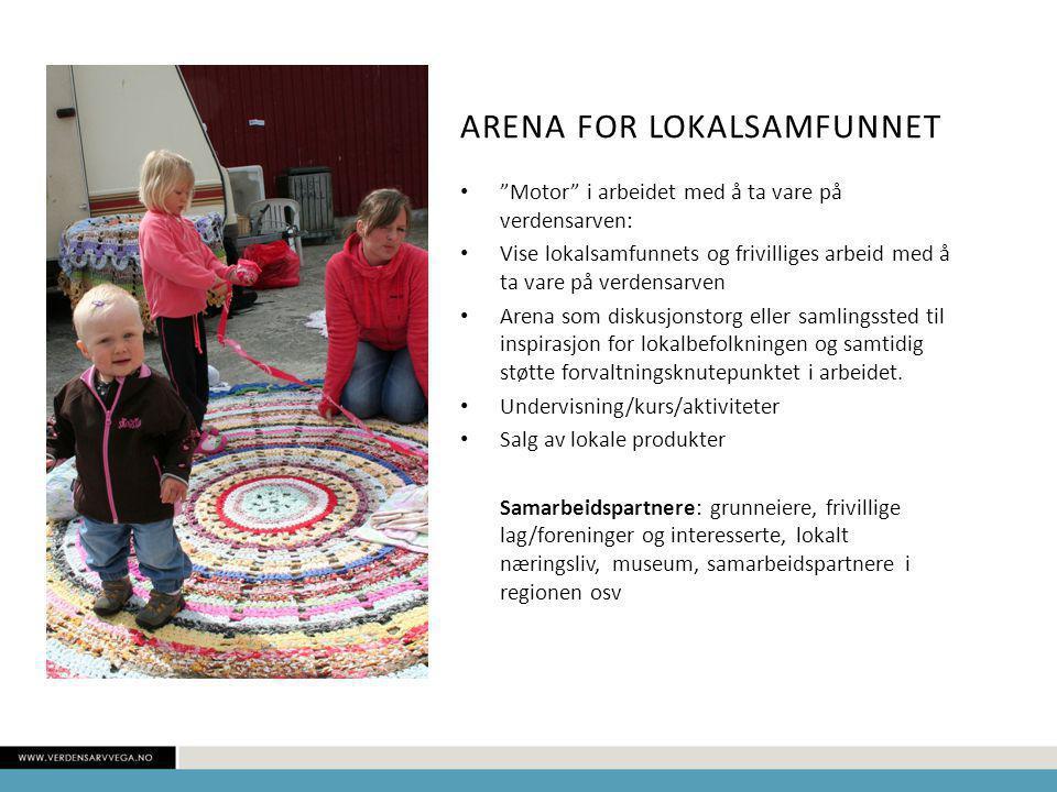 Arena for lokalsamfunnet