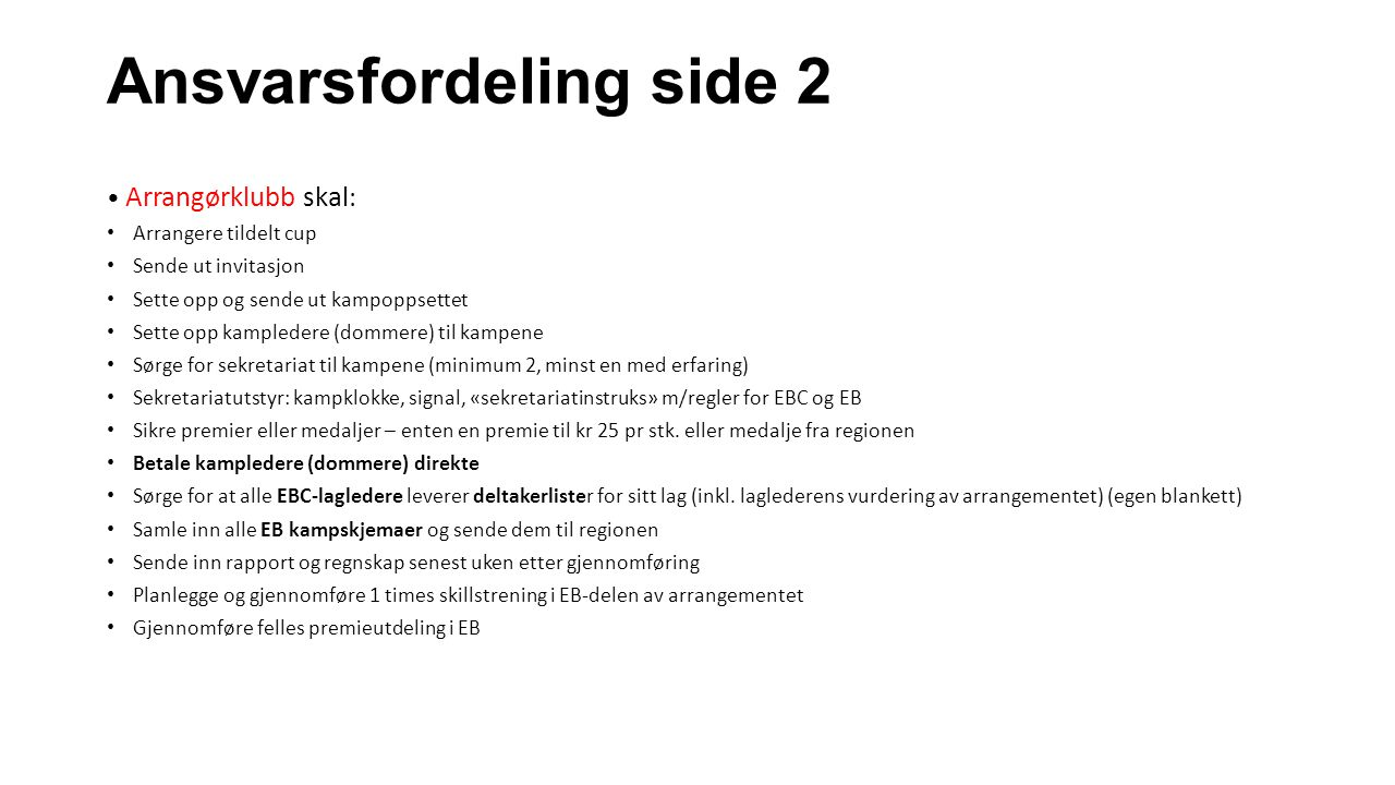 Ansvarsfordeling side 2
