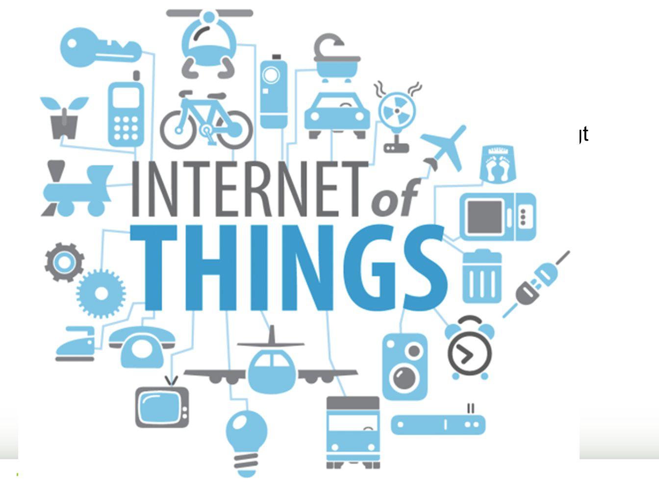 Internet of things.. Teknologien er driveren, standarder og lovverk er langt bak. Skytjenester blir normen.