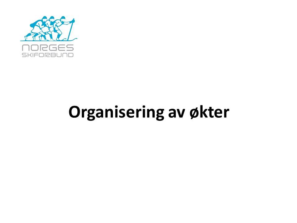 Organisering av økter