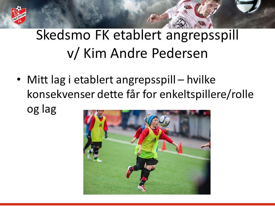 Skedsmo FK etablert angrepsspill v/ Kim Andre Pedersen