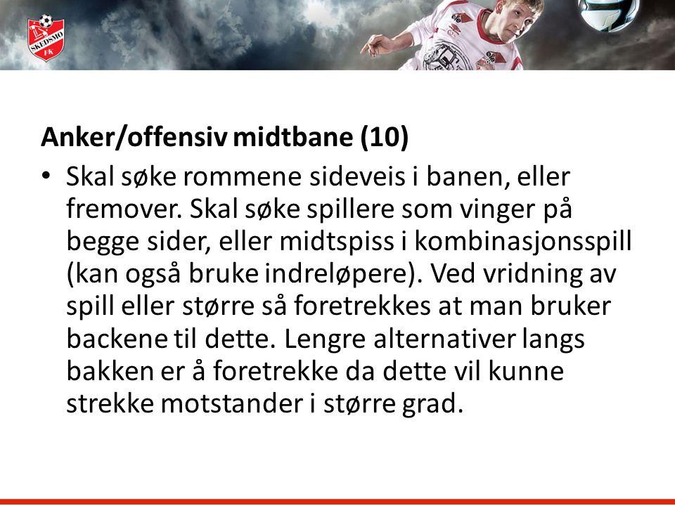 Anker/offensiv midtbane (10)