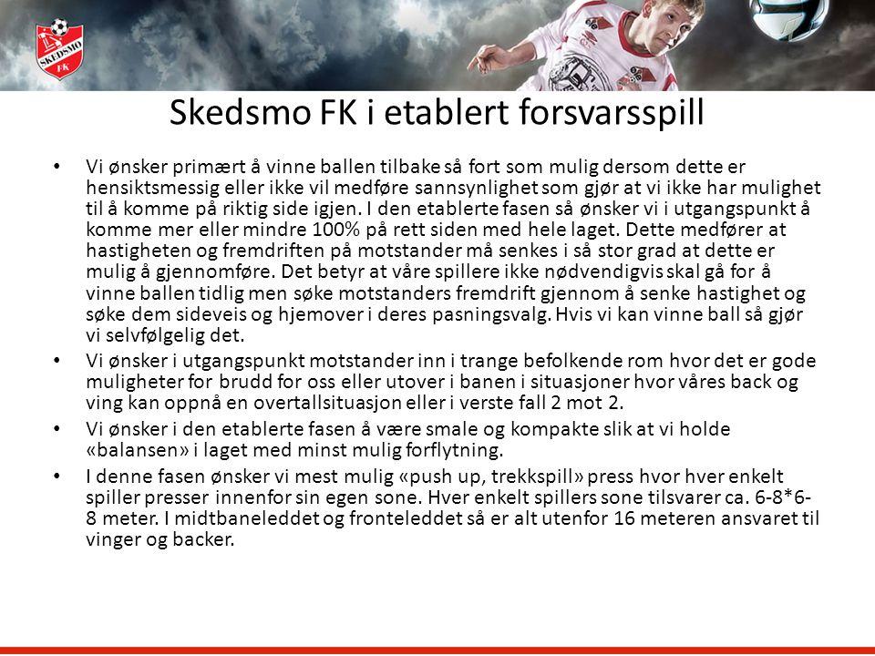Skedsmo FK i etablert forsvarsspill