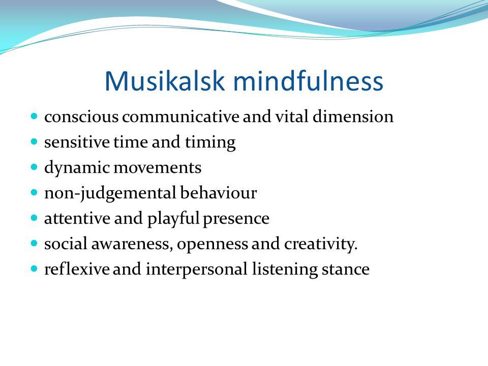 Musikalsk mindfulness