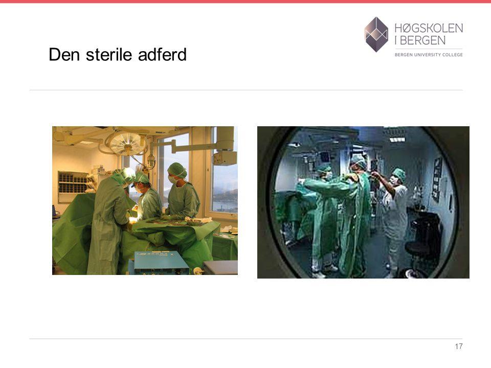 Den sterile adferd