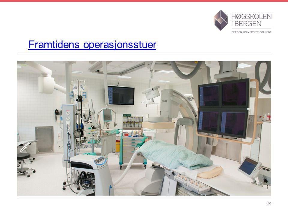 Framtidens operasjonsstuer