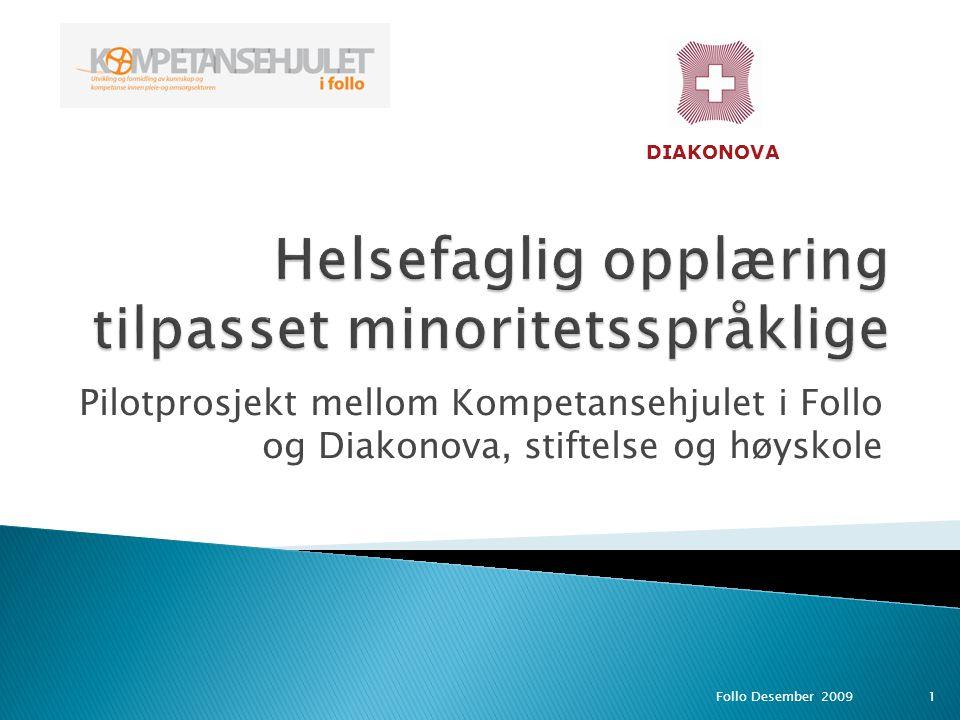 Helsefaglig opplæring tilpasset minoritetsspråklige