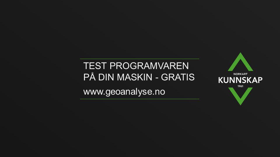 Test programvaren på din maskin - gratis
