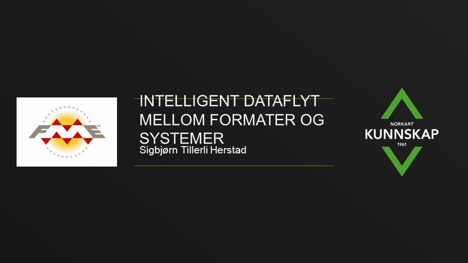 Intelligent dataflyt mellom formater og systemer