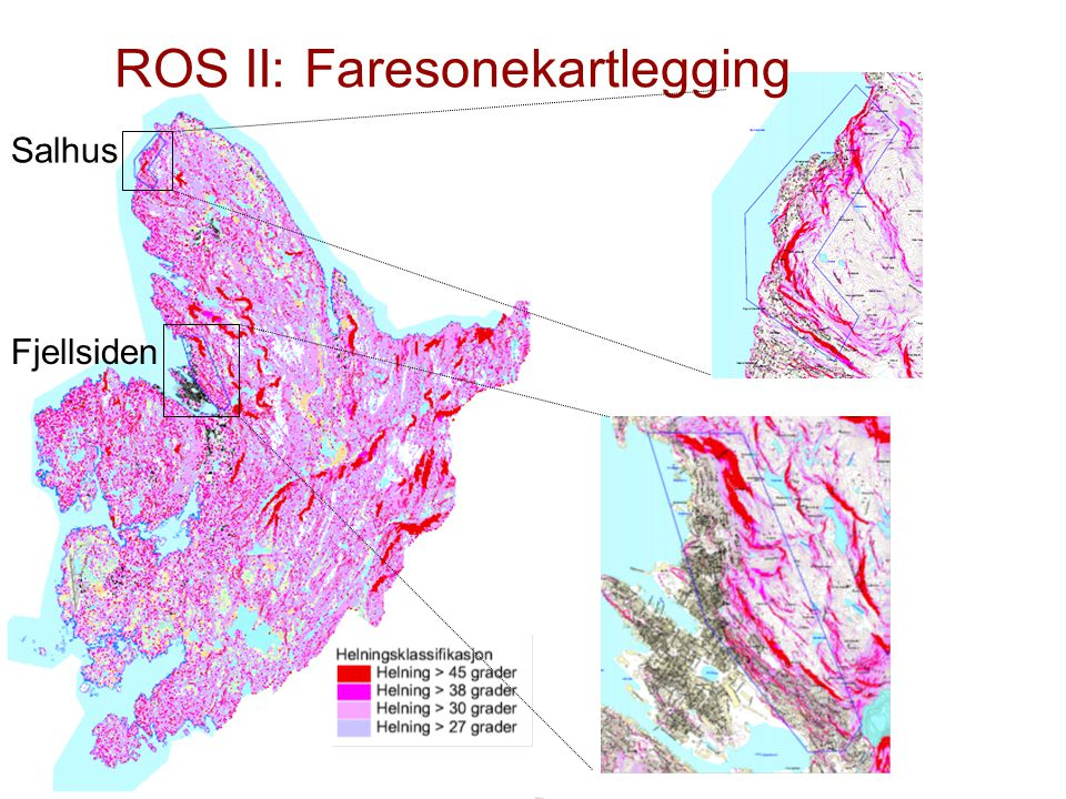 ROS II: Faresonekartlegging