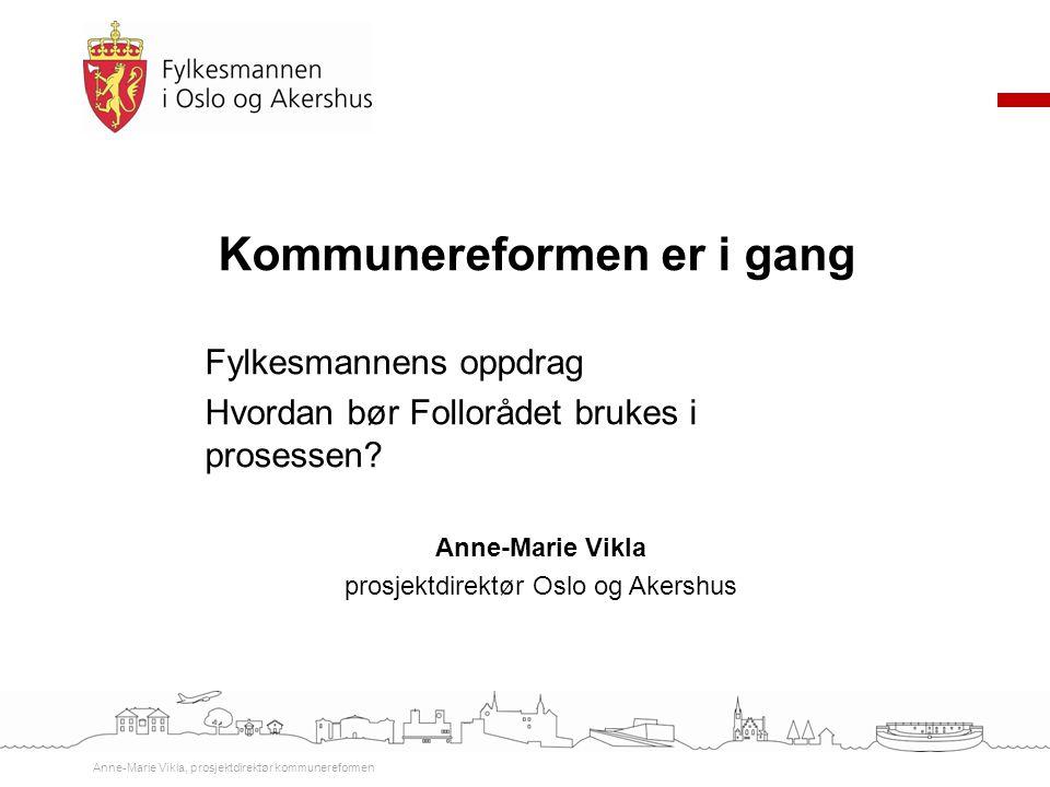 prosjektdirektør Oslo og Akershus